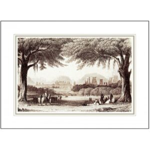 TEMPLES AND PALACES OF MADHURAI CANVAS ART PRINTS   FRAMED