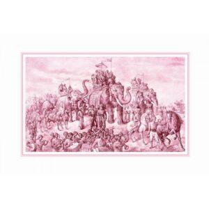 VICTORIOUS PROCESSION ART PRINT ON PAPER   FRAMED